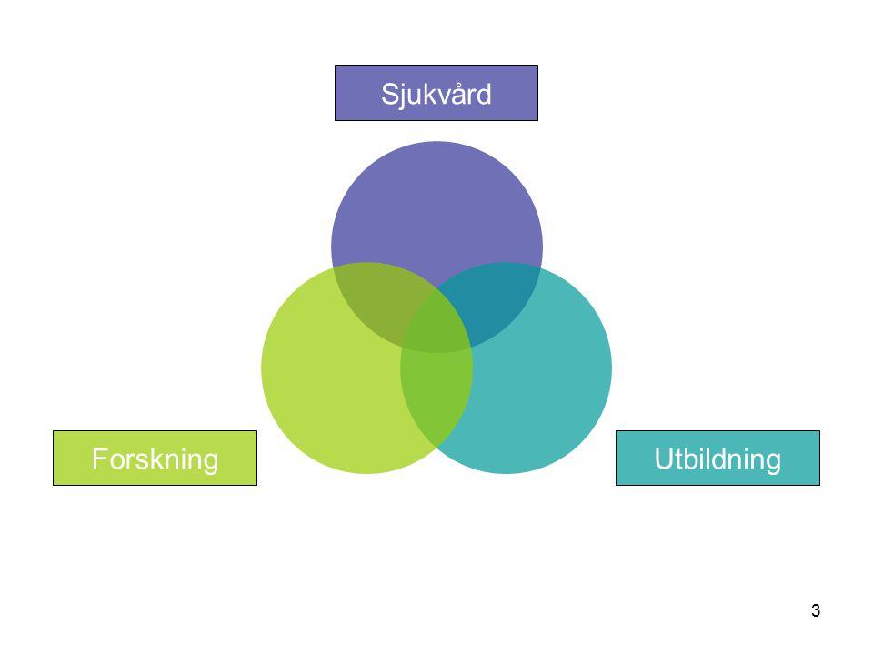 3 Sjukvård UtbildningForskning