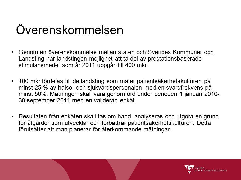 Genom en överenskommelse mellan staten och Sveriges Kommuner och Landsting har landstingen möjlighet att ta del av prestationsbaserade stimulansmedel