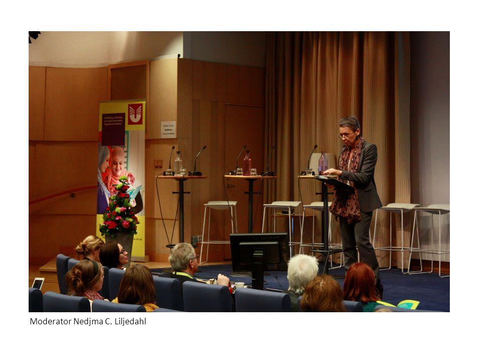 Moderator Nedjma C. Liljedahl
