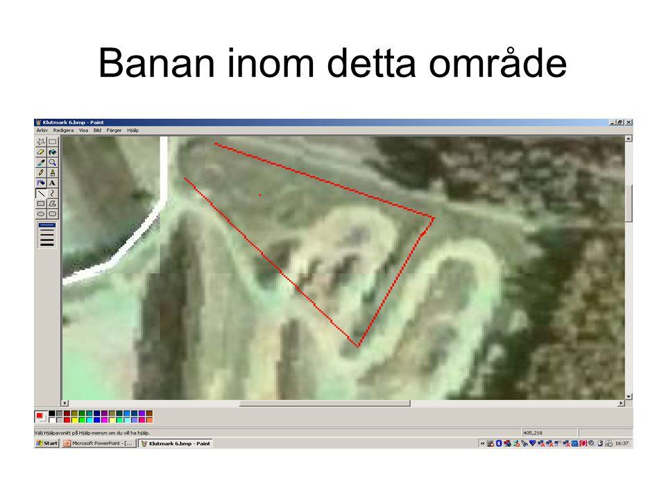 Banan inom detta område