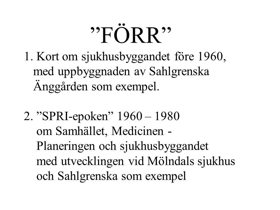 Staten med Medicinalstyrelsen, från 1877 Axel Kumlien Kungliga Byggnadsstyrelsen – KBS från 1918 Gustaf Birch-Lindgren Landstingen från 1862