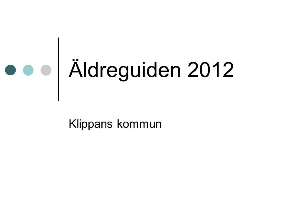 Äldreguiden 2012 Klippans kommun