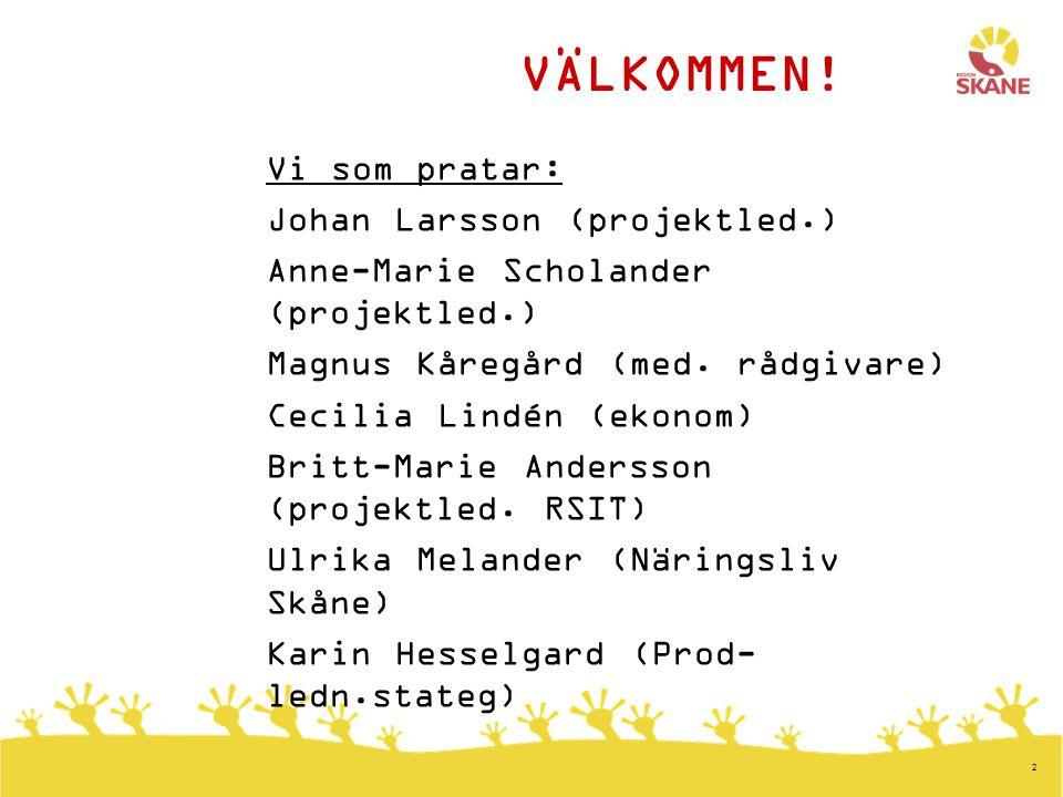 3 Bakgrund / dagsläge  Ökande antal gravida har gjort att det finns ett stort behov av mödrahälsovård i Region Skåne.