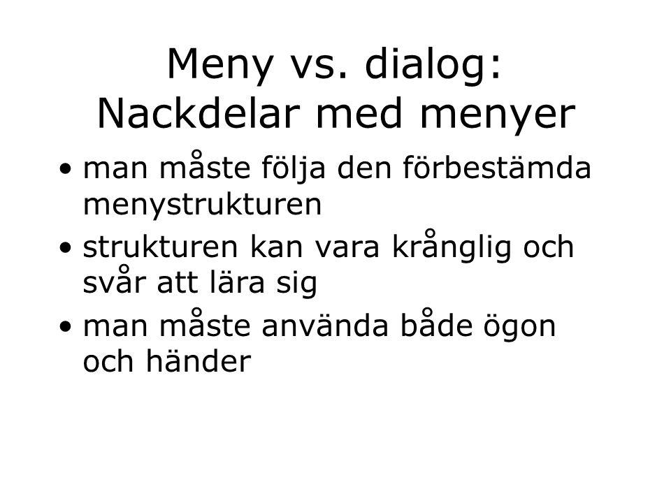 Meny vs.