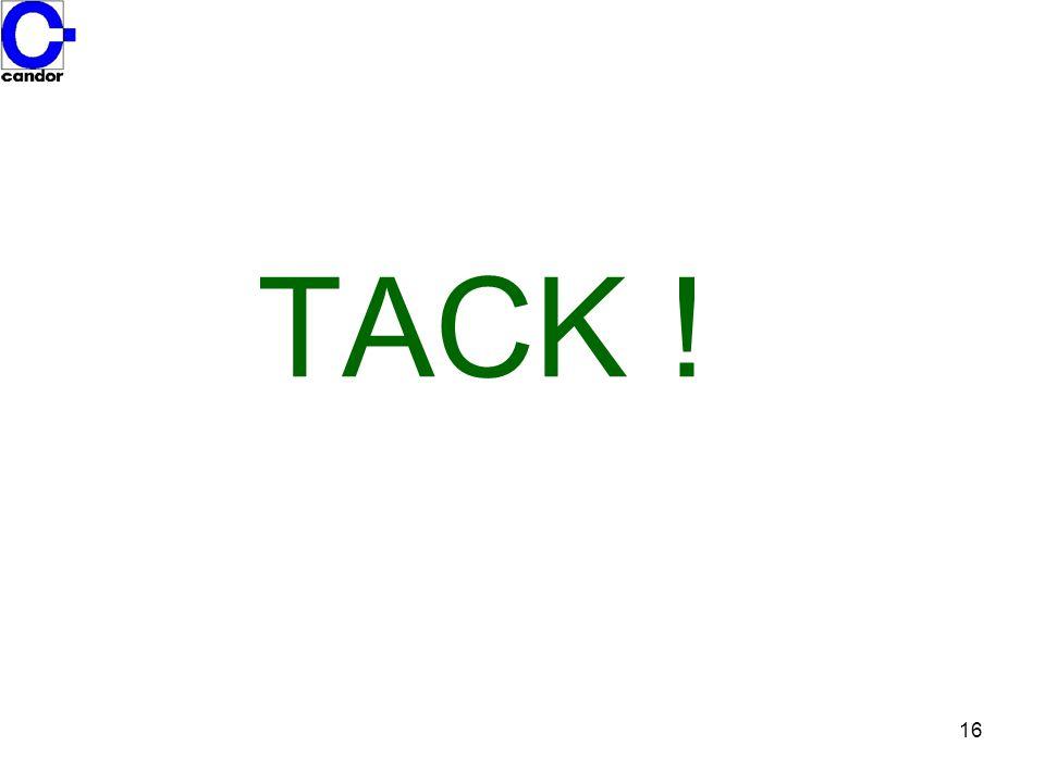 16 TACK !