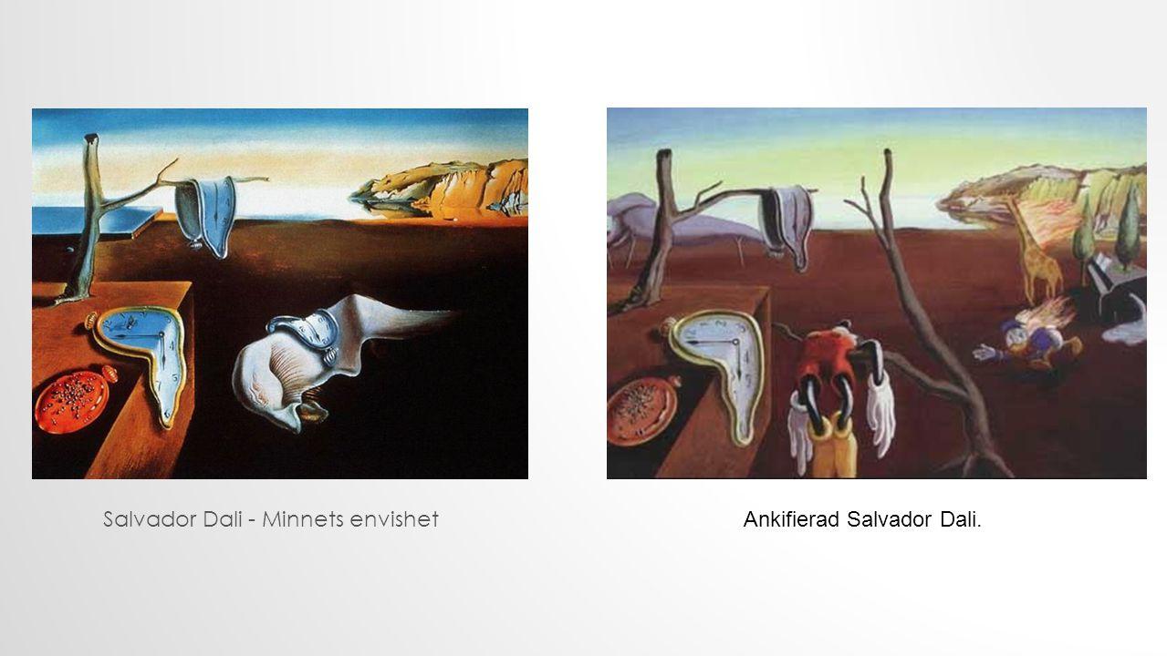 Salvador Dali - Minnets envishet Ankifierad Salvador Dali.