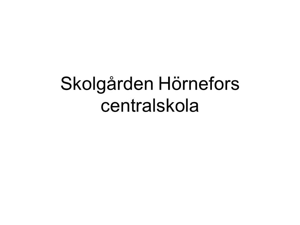 Skolgården Hörnefors centralskola