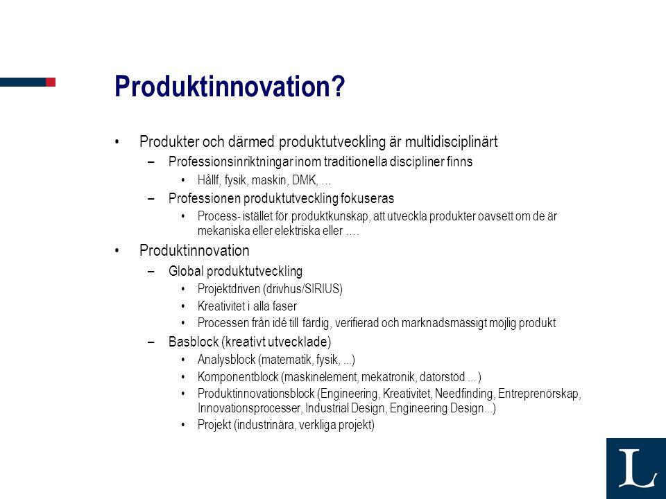 Produktinnovation.