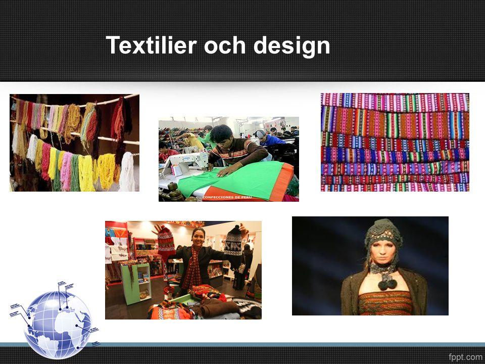 Textilier och design