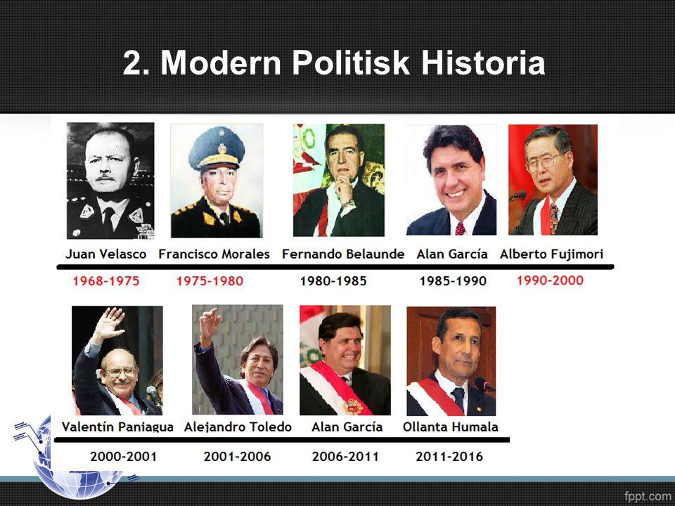 2. Modern Politisk Historia