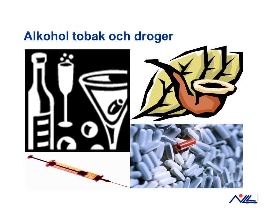 Alkohol tobak och droger