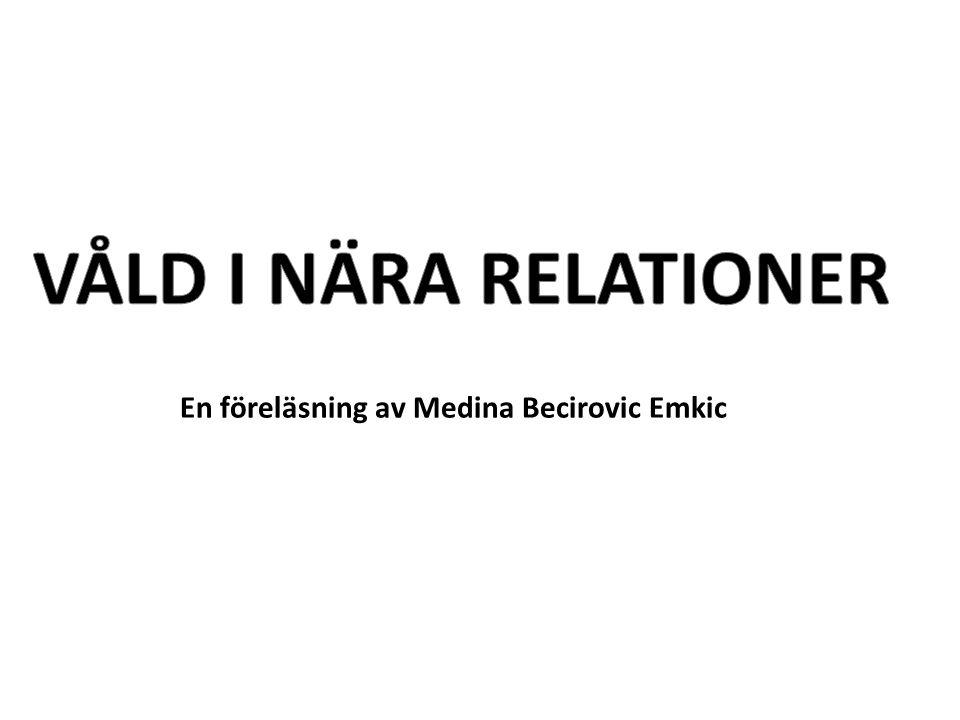 En föreläsning av Medina Becirovic Emkic