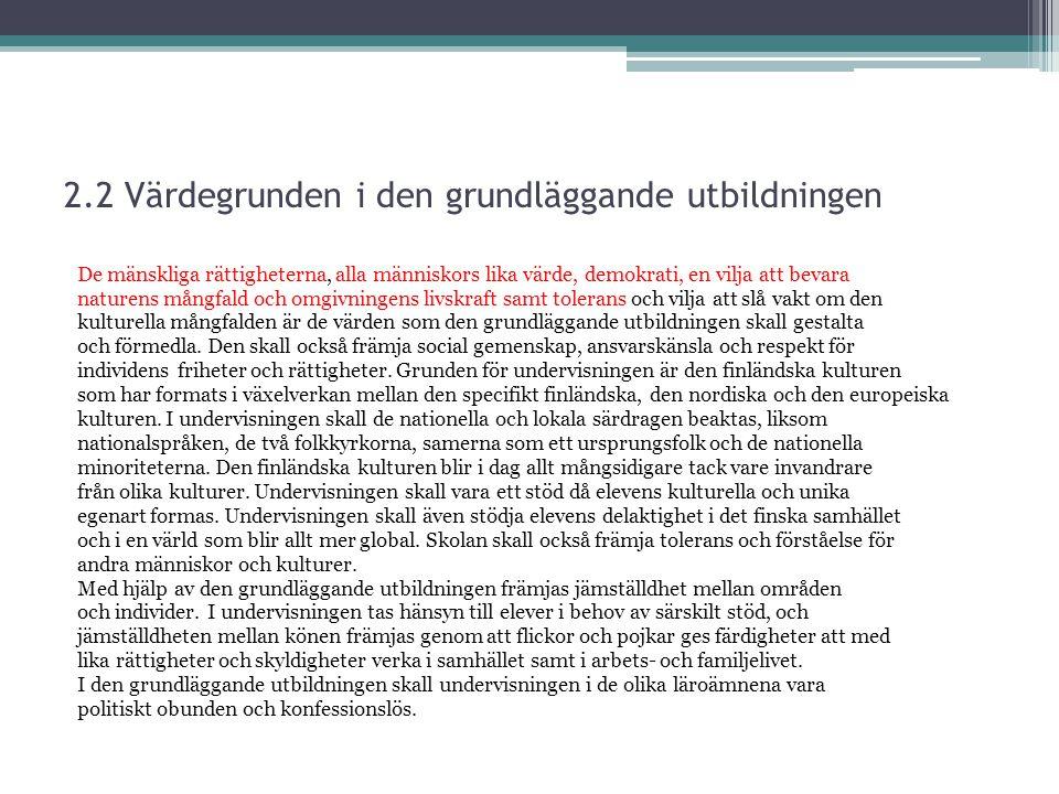 Fredsfostran i temaområdena (2004) Uppmärksammas i temaområde 6.