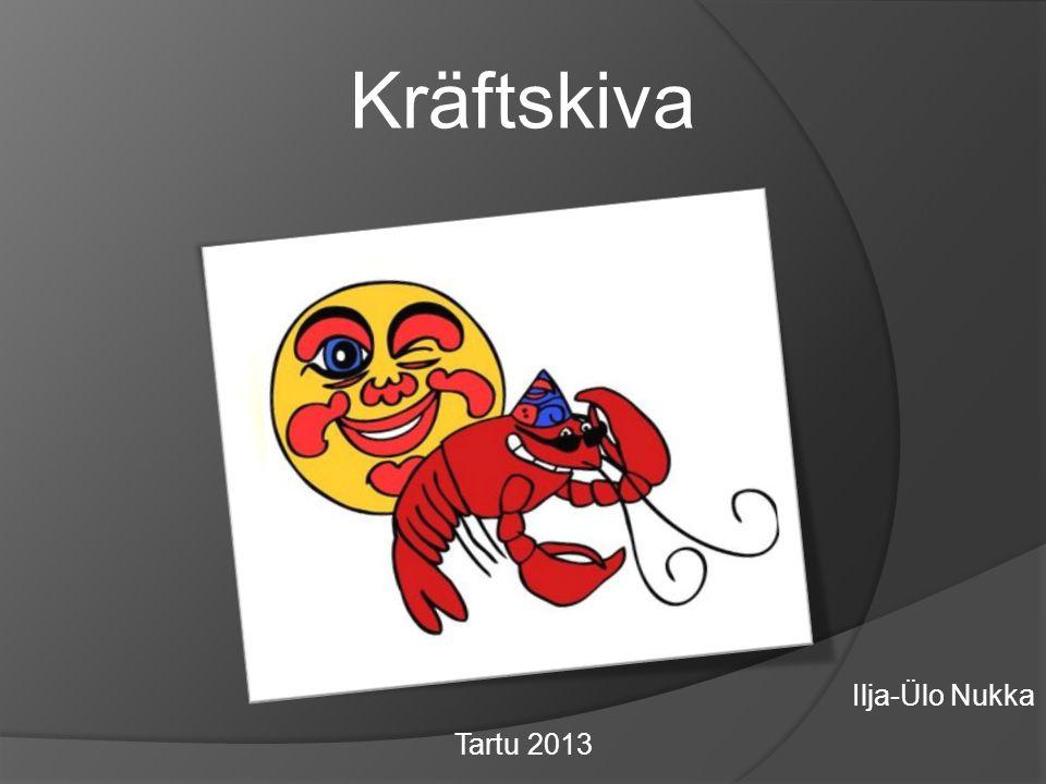 Kräftskiva Ilja-Ülo Nukka Tartu 2013