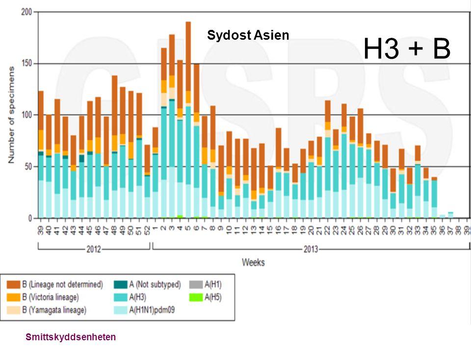 Smittskyddsenheten Sydost Asien H3 + B