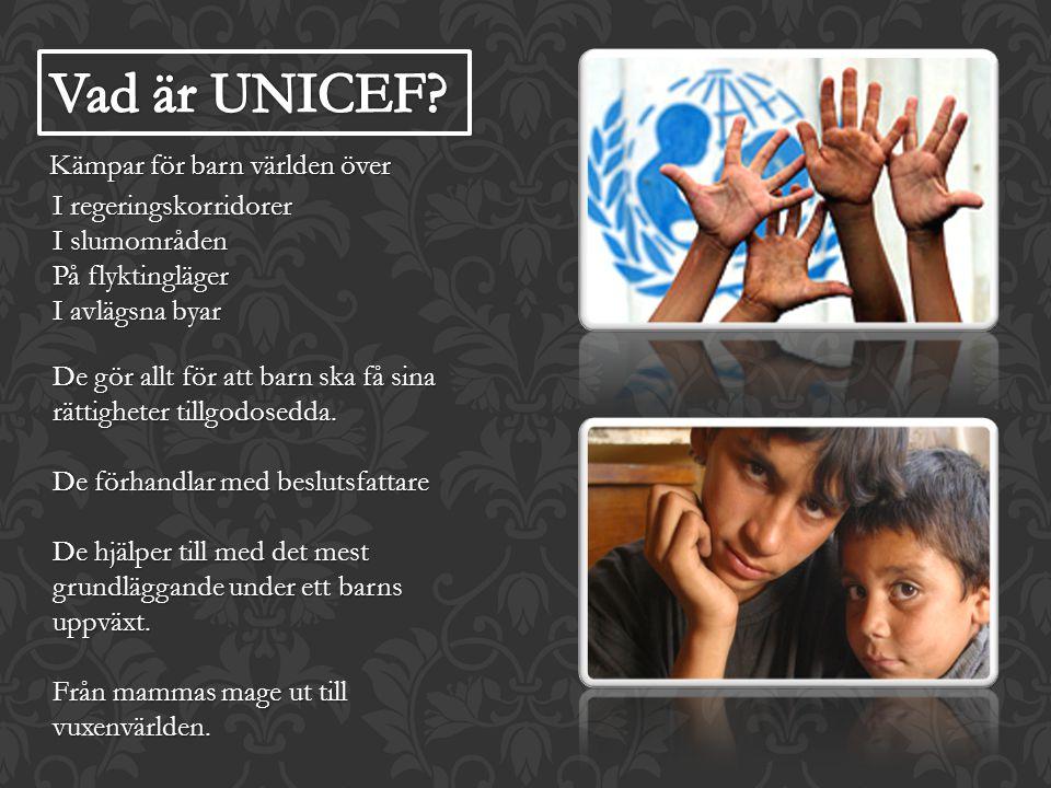 Kämpar för barn världen över I regeringskorridorer I slumområden På flyktingläger I avlägsna byar De gör allt för att barn ska få sina rättigheter til