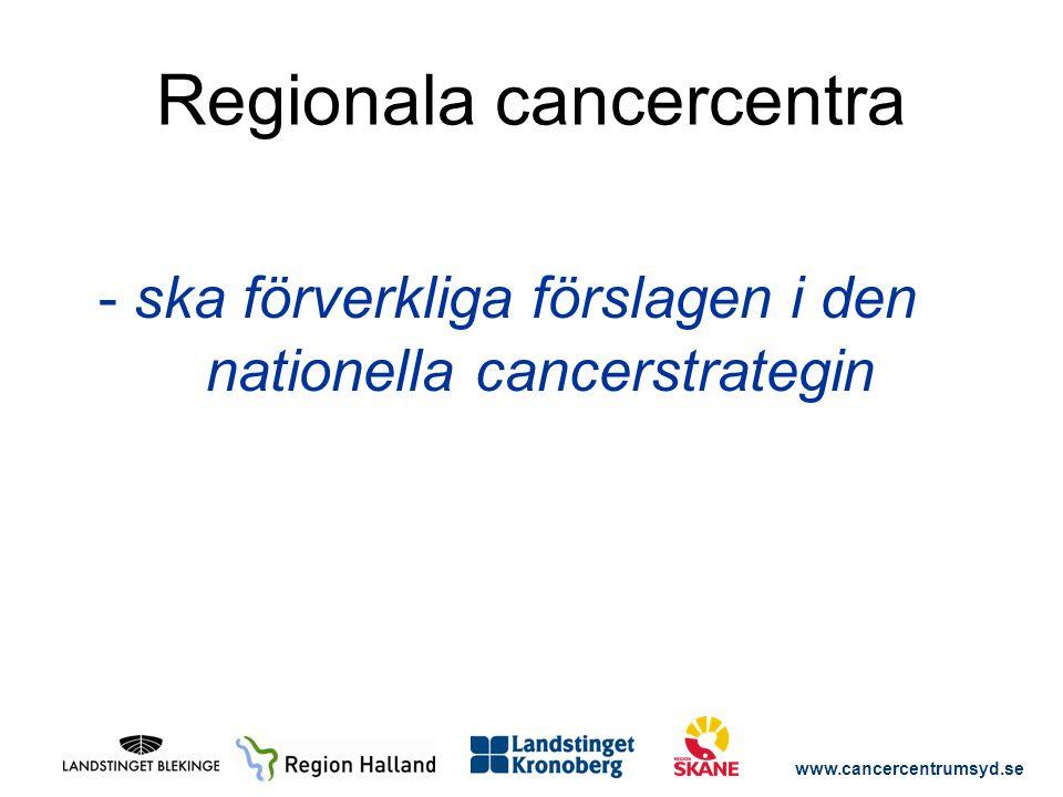 www.cancercentrumsyd.se RCC- KARTAN