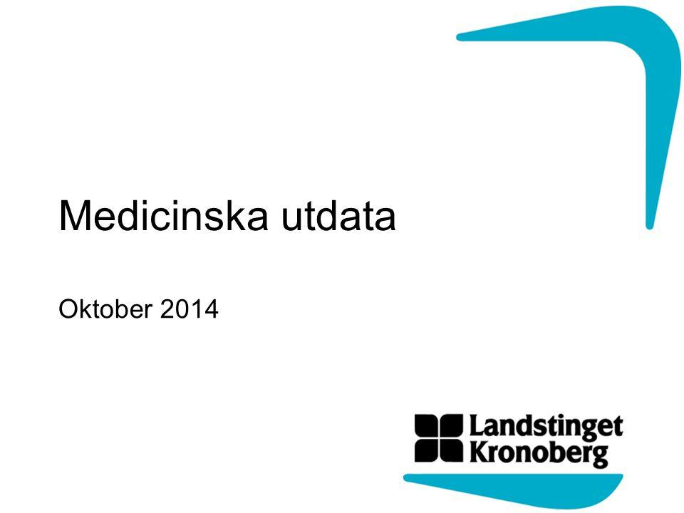 Medicinska utdata Oktober 2014