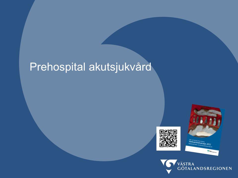 Verksamhetsanalys 2012 vgregion.se/verksamhetsanalys 7