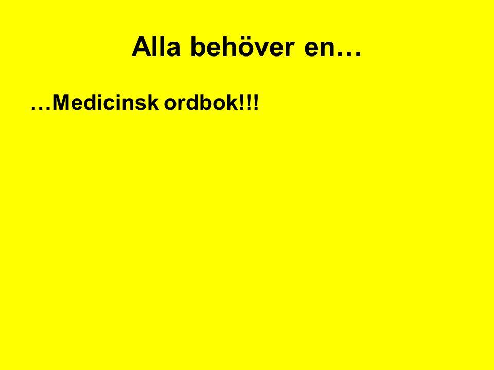 Kortfattad medicinsk ordbok Kortfattad medicinsk ordbok av Dahlgren, Sven Häftad.