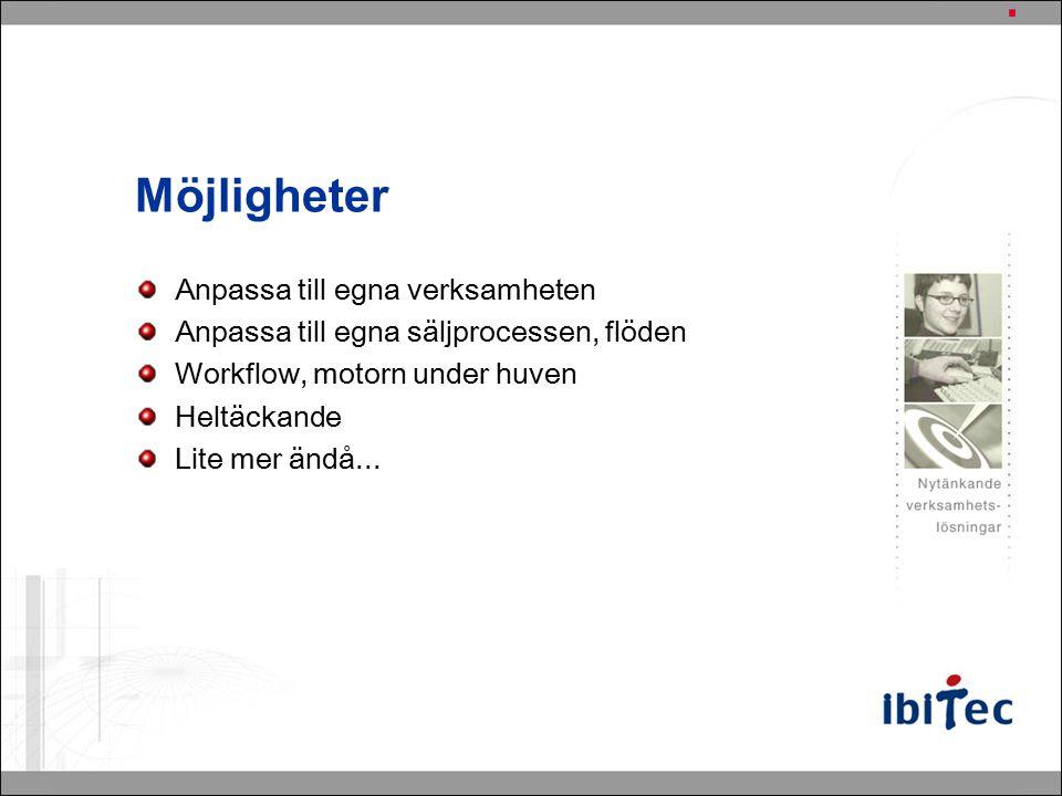 Gränssnitt Web Client CRM Outlook Client
