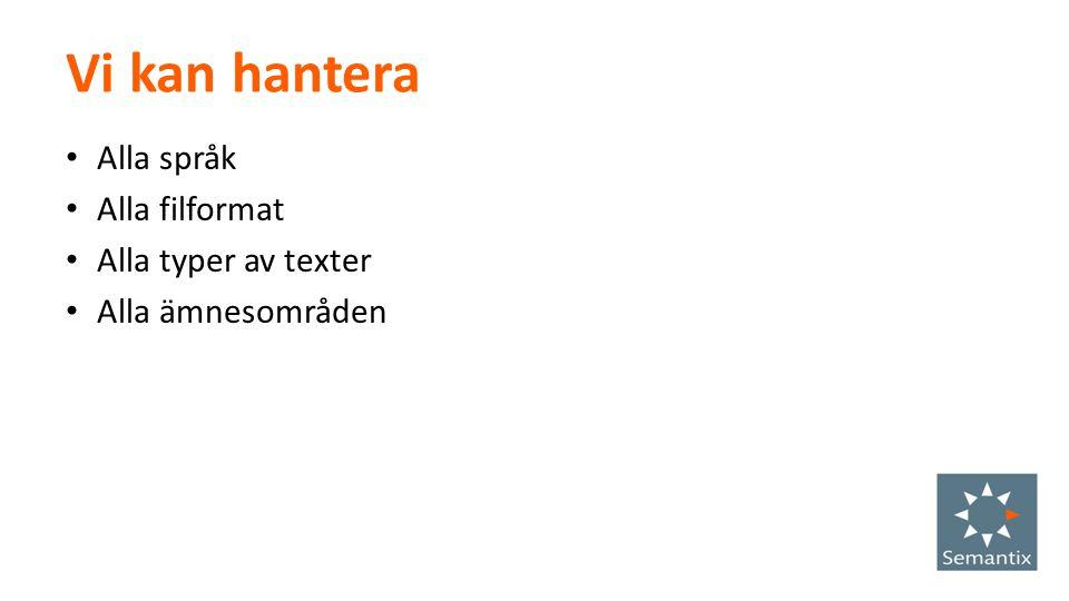 Om Semantix EPiServer Add-ons