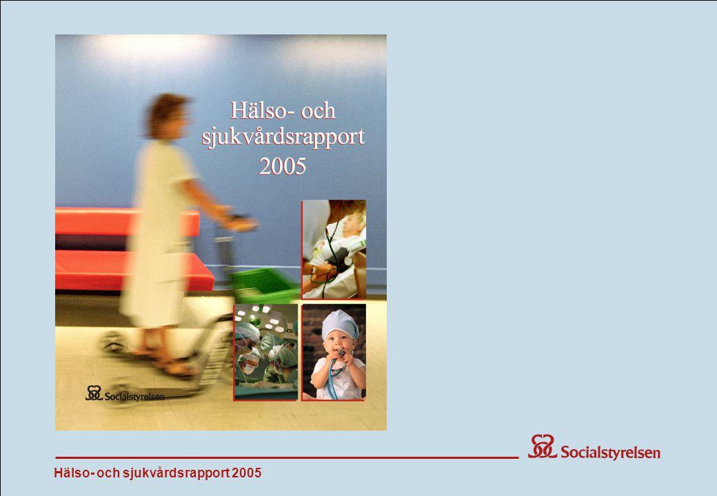 Hälso- och sjukvårdsrapport 2005 Start