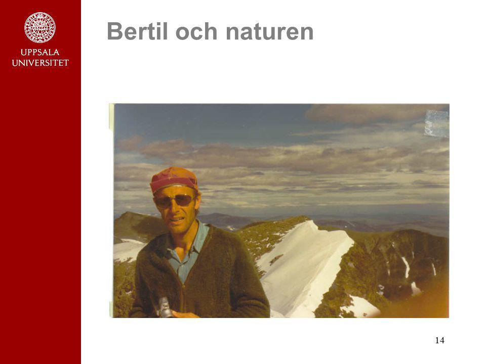 14 Bertil och naturen