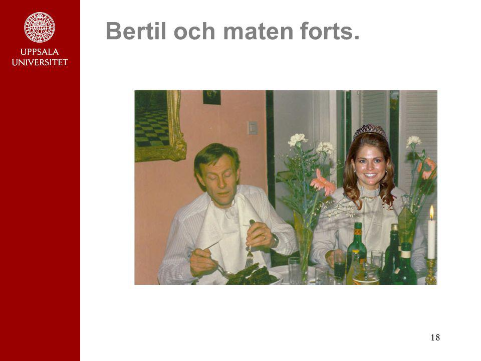 18 Bertil och maten forts.