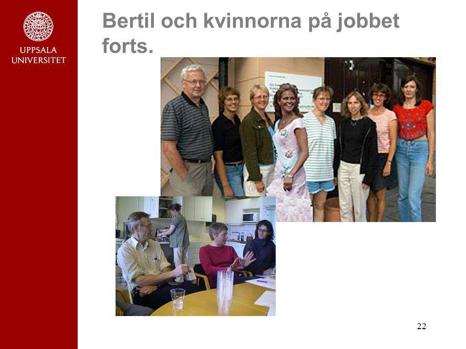 22 Bertil och kvinnorna på jobbet forts.
