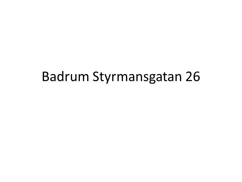 Badrum Styrmansgatan 26