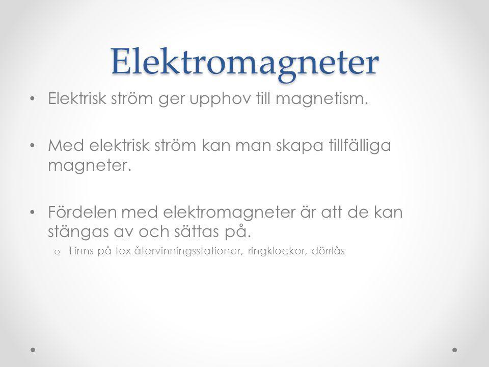 Så fungerar en elektromagnet