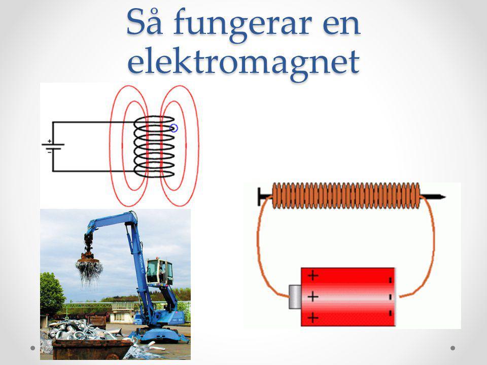 Elektrisk energi Elenergin kommer från vattenkraft, kärnkraft och vindkraft.
