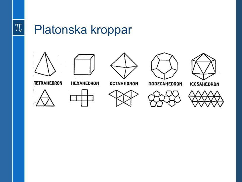 Platonska kroppar