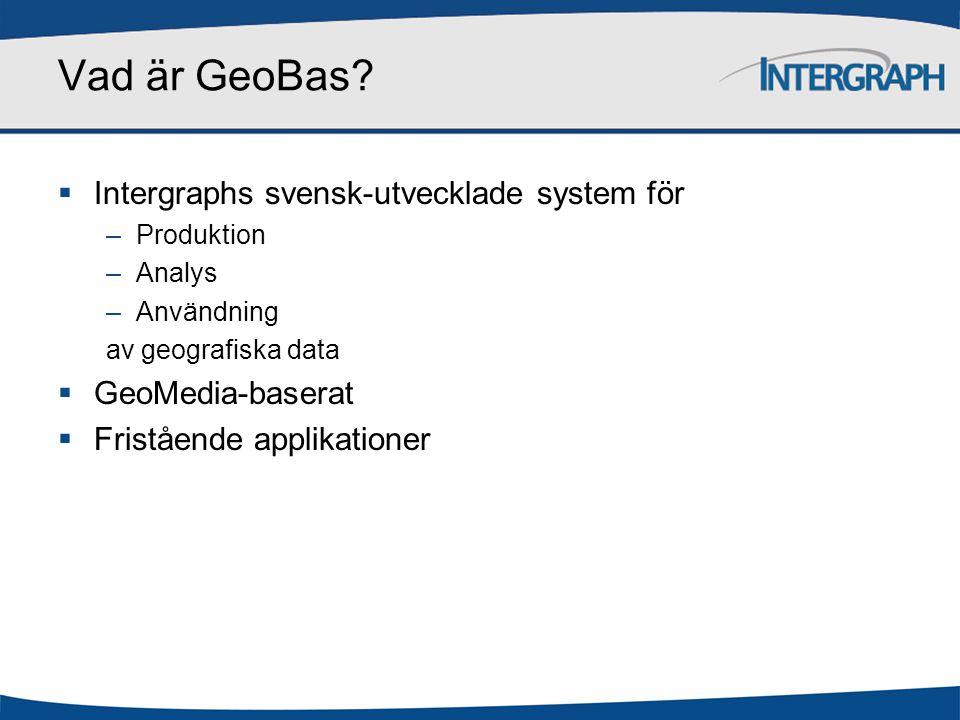 Vad är GeoBas.