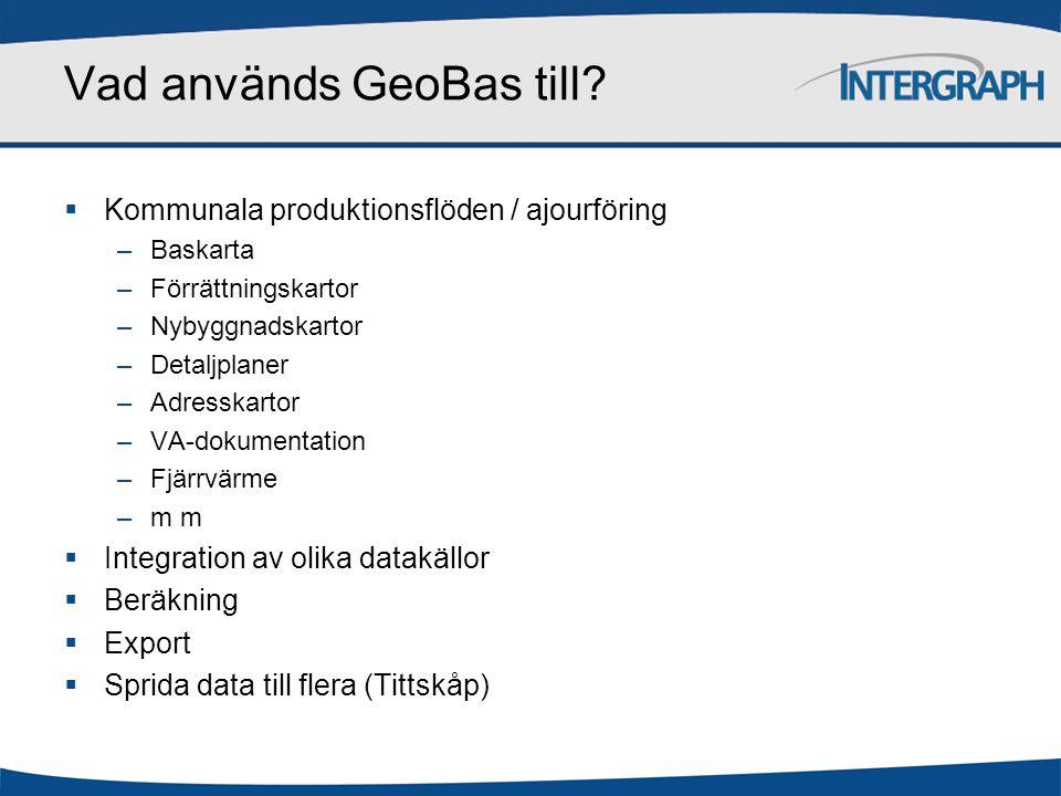 Vad används GeoBas till.