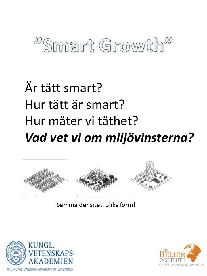 Är tätt smart.Hur tätt är smart. Hur mäter vi täthet.