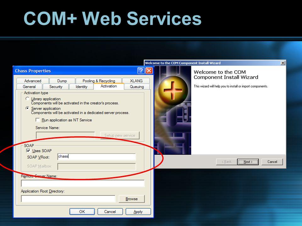 COM+ Web Services