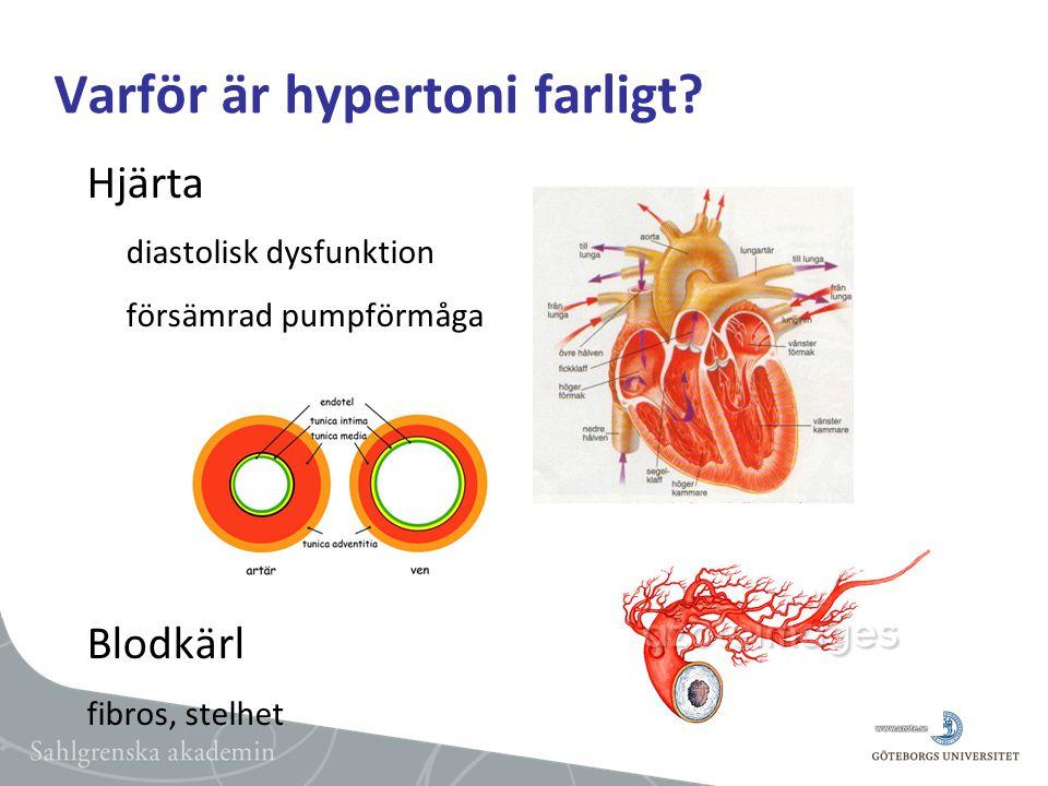 Varför är hypertoni farligt.