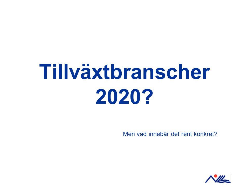 Tillväxtbranscher 2020 Men vad innebär det rent konkret