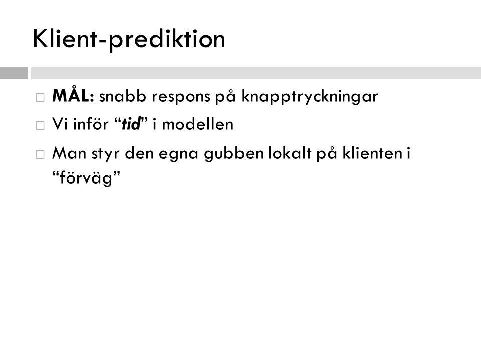 Klient-prediktion