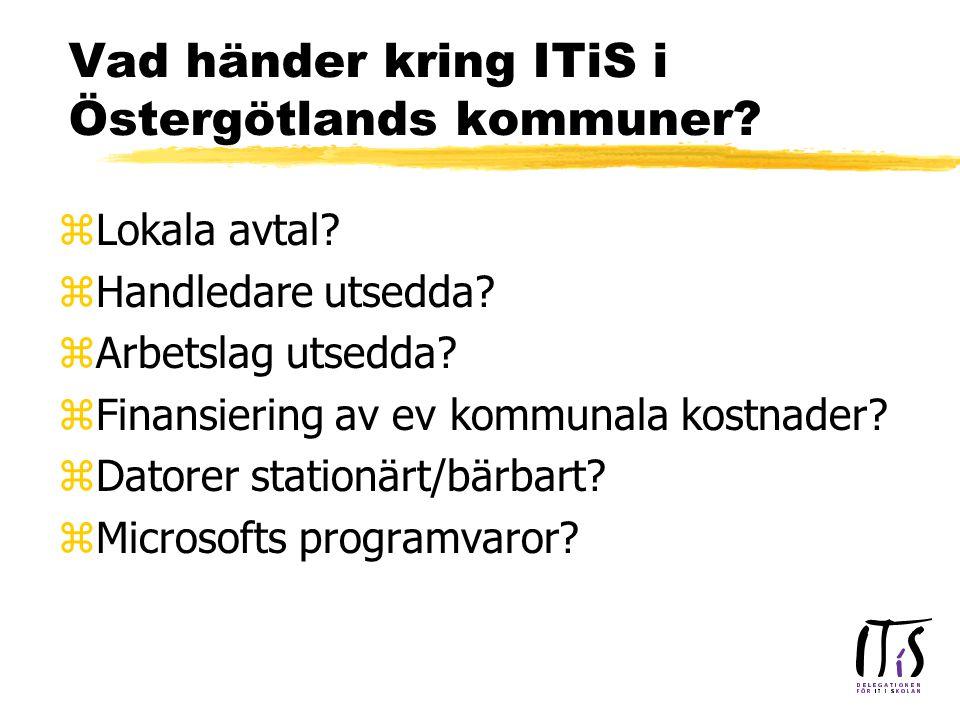 zLokala avtal. zHandledare utsedda. zArbetslag utsedda.