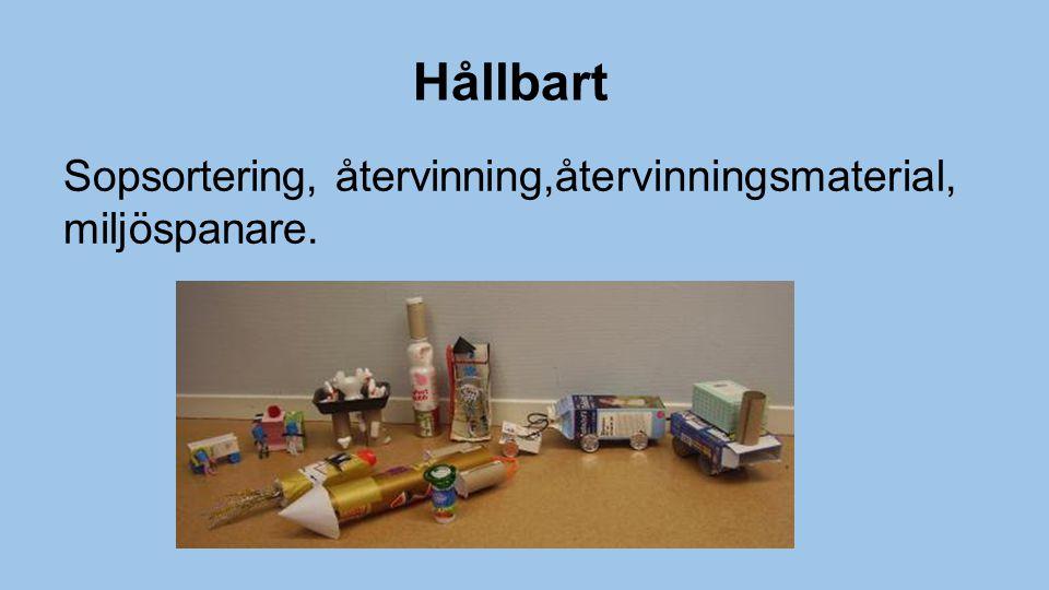Hållbart Sopsortering, återvinning,återvinningsmaterial, miljöspanare.