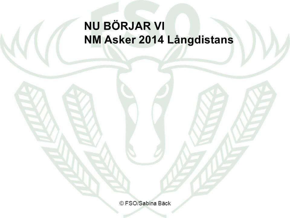 NU BÖRJAR VI NM Asker 2014 Långdistans © FSO/Sabina Bäck