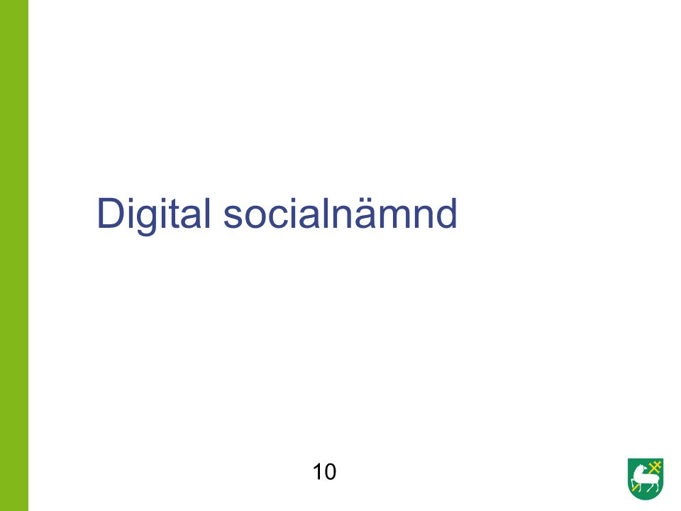 Digital socialnämnd 10