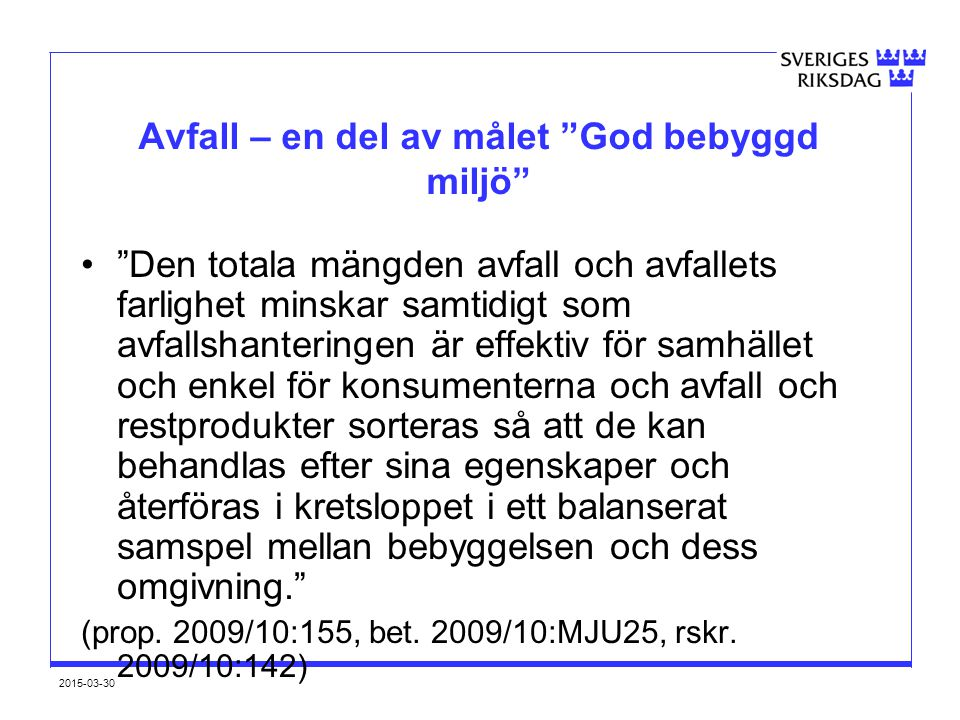 2015-03-30 Sverige ligger bra till.