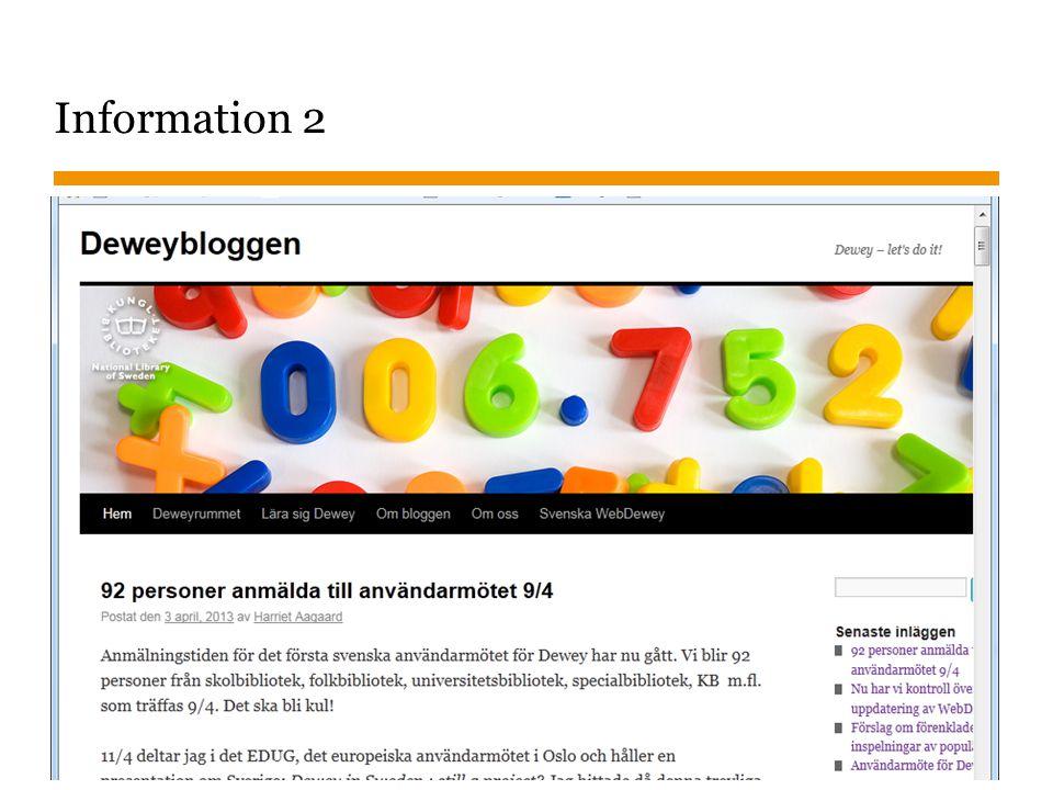 Sidnummer 2013-01-23 14 Information 2