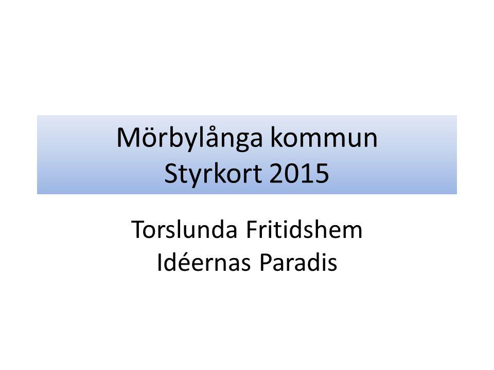Mörbylånga kommun Styrkort 2015 Torslunda Fritidshem Idéernas Paradis