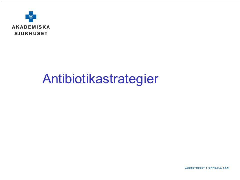Antibiotikastrategier