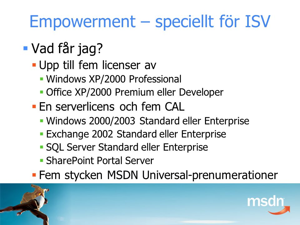 Basklasser Common Language Specification Common Language Runtime ADO.NET: Data och XML Visual Basic®C++C# Visual Studio.NET ASP.NET: Web Services och Web Forms JScript®… Windows Formulär.NET Framework
